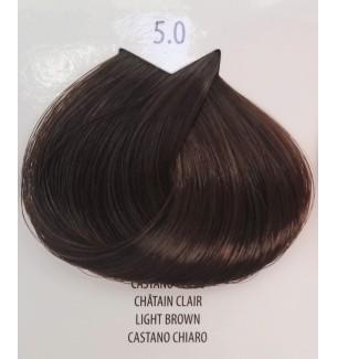 CASTANO CHIARO 5.0 LIFE COLOR PLUS 100 ML - prodotti per parrucchieri - hairevolution prodotti