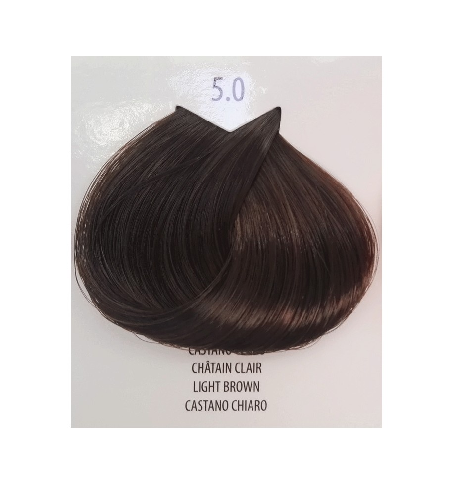 Tinta per capelli Castano Chiaro 5.0 Life Color Plus 100 ML - prodotti per parrucchieri - hairevolution prodotti