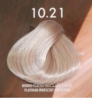 Tinta Biondo Platino Iridescente Cenere 10.21 Life Color Plus Mineral 100ml - prodotti per parrucchieri - hairevolution prodotti