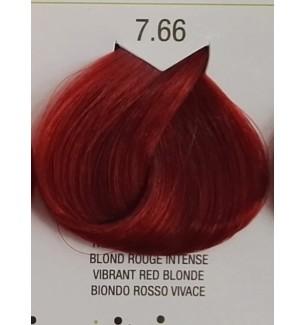 Tinta senza ammonica colore Biondo Rosso Vivace 7.66 B.Life Color - prodotti per parrucchieri - hairevolution prodotti