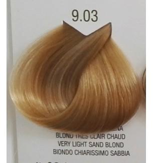 Tinta senza ammoniaca per capelli Biondo Chiarissimo Sabbia 9.03 B.Life Color - prodotti per parrucchieri - hairevolution pro...