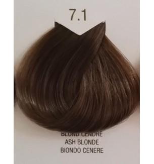 Tinta senza ammoniaca per capelli Biondo Cenere 7.1 B.Life Color 100ml - prodotti per parrucchieri - hairevolution prodotti