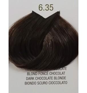 Tinta senza ammoniaca colore Biondo Scuro Cioccolato 6.35 B.Life Color - prodotti per parrucchieri - hairevolution prodotti