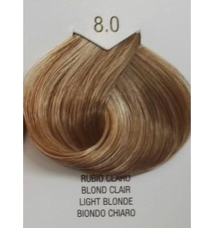 Tinta senza ammoniaca per capelli Biondo Chiaro 8.0 B.Life Color 100 ml - prodotti per parrucchieri - hairevolution prodotti