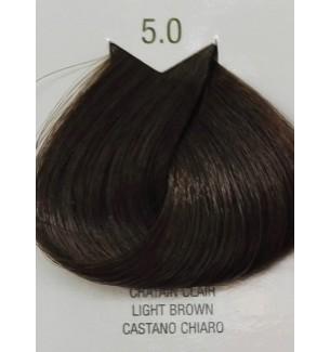 Tinta senza ammoniaca Castano Chiaro 5.0 B.Life Color 100 ML - prodotti per parrucchieri - hairevolution prodotti