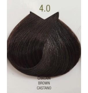 Tinta senza ammoniaca Castano 4.0 B.Life Color 100 ML - prodotti per parrucchieri - hairevolution prodotti