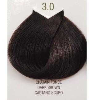 Tinta senza ammoniaca Castano Scuro 3.0 B.Life Color 100 ML - prodotti per parrucchieri - hairevolution prodotti