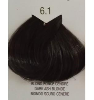 Tinta senza ammoniaca Biondo Scuro Cenere 6.1 B.Life Color 100 ML - prodotti per parrucchieri - hairevolution prodotti