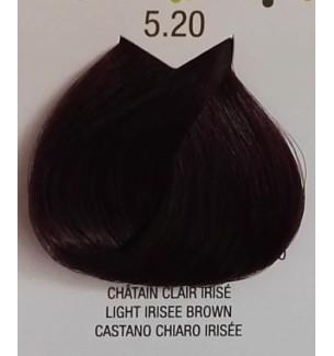 Tinta senza ammoniaca Castano Chiaro Irisee 5.20 B.Life Color 100 ML - prodotti per parrucchieri - hairevolution prodotti