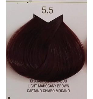 Tinta senza ammoniaca Castano Chiaro Mogano 5.5 B.Life Color 100 ML - prodotti per parrucchieri - hairevolution prodotti