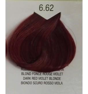 Tinta senza ammonica Biondo Scuro Rosso Viola 6.62 B.Life Color 100 ML - prodotti per parrucchieri - hairevolution prodotti
