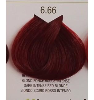 Tinta senza ammoniaca Biondo Scuro Rosso Intenso 6.66 B.Life Color 100 ML