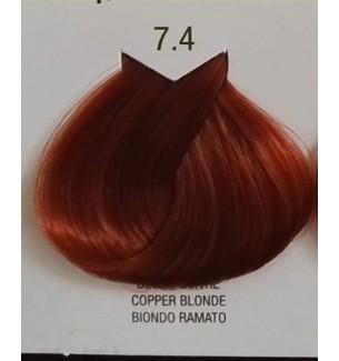 BIONDO RAMATO 7.4 B.LIFE COLOR 100 ML - prodotti per parrucchieri - hairevolution prodotti