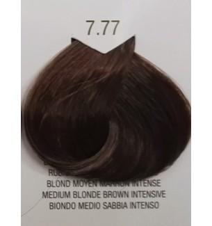 Tinta senza ammoniaca Biondo Medio Sabbia Intenso 7.77 B.Life Color 100 ML - prodotti per parrucchieri - hairevolution prodotti