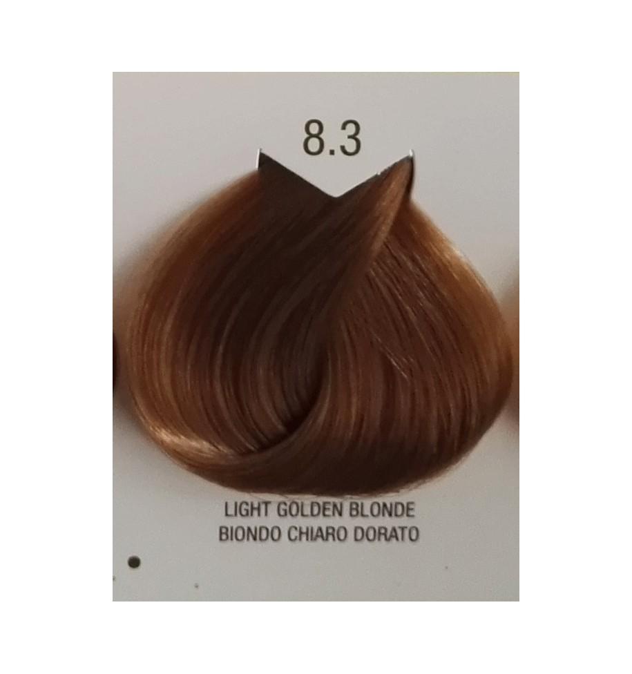 Tinta senza ammoniaca Biondo Chiaro Dorato 8.3 B.Life Color 100 ML - prodotti per parrucchieri - hairevolution prodotti