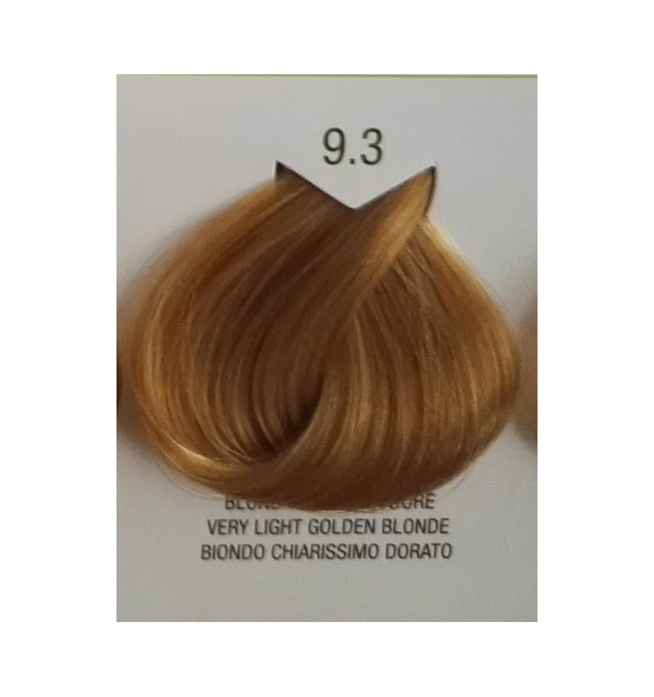 Tinta senza ammoniaca Biondo Chiarissimo Dorato 9.3 B.Life Color 100 ML - prodotti per parrucchieri - hairevolution prodotti