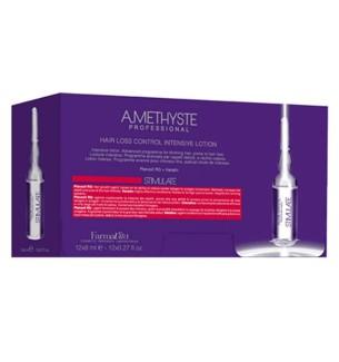 LOZIONE INTENSIVA ANTICADUTA AMETHYSTE STIMULATE LOTION 12x8 ML - prodotti per parrucchieri - hairevolution prodotti