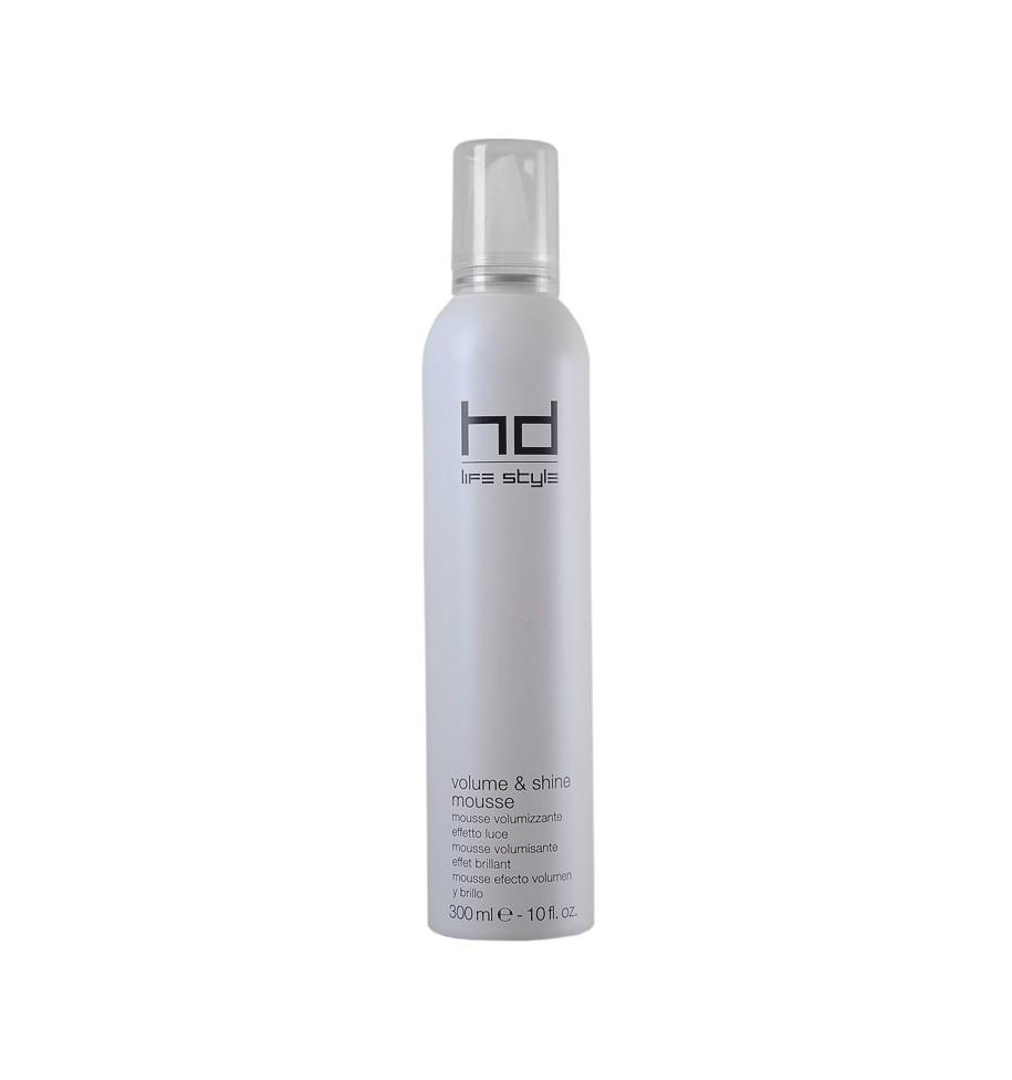Mousse Voluminizzante Effetto Luce HD Volume & Shine 300 ml - prodotti per parrucchieri - hairevolution prodotti