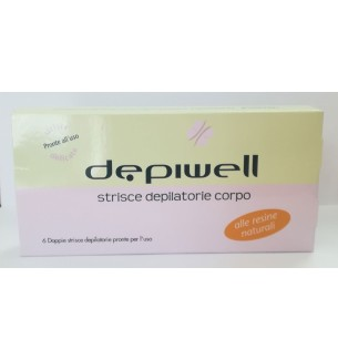 Strisce Depilatorie Corpo Depiwell
