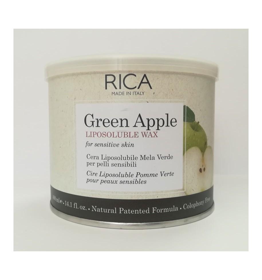 Ceretta Vaso Mela Verde 400ml RICA - prodotti per parrucchieri - hairevolution prodotti