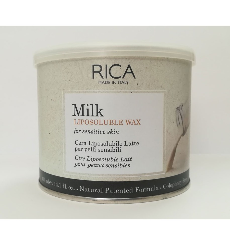 Ceretta Vaso Latte 400ml Rica - prodotti per parrucchieri - hairevolution prodotti