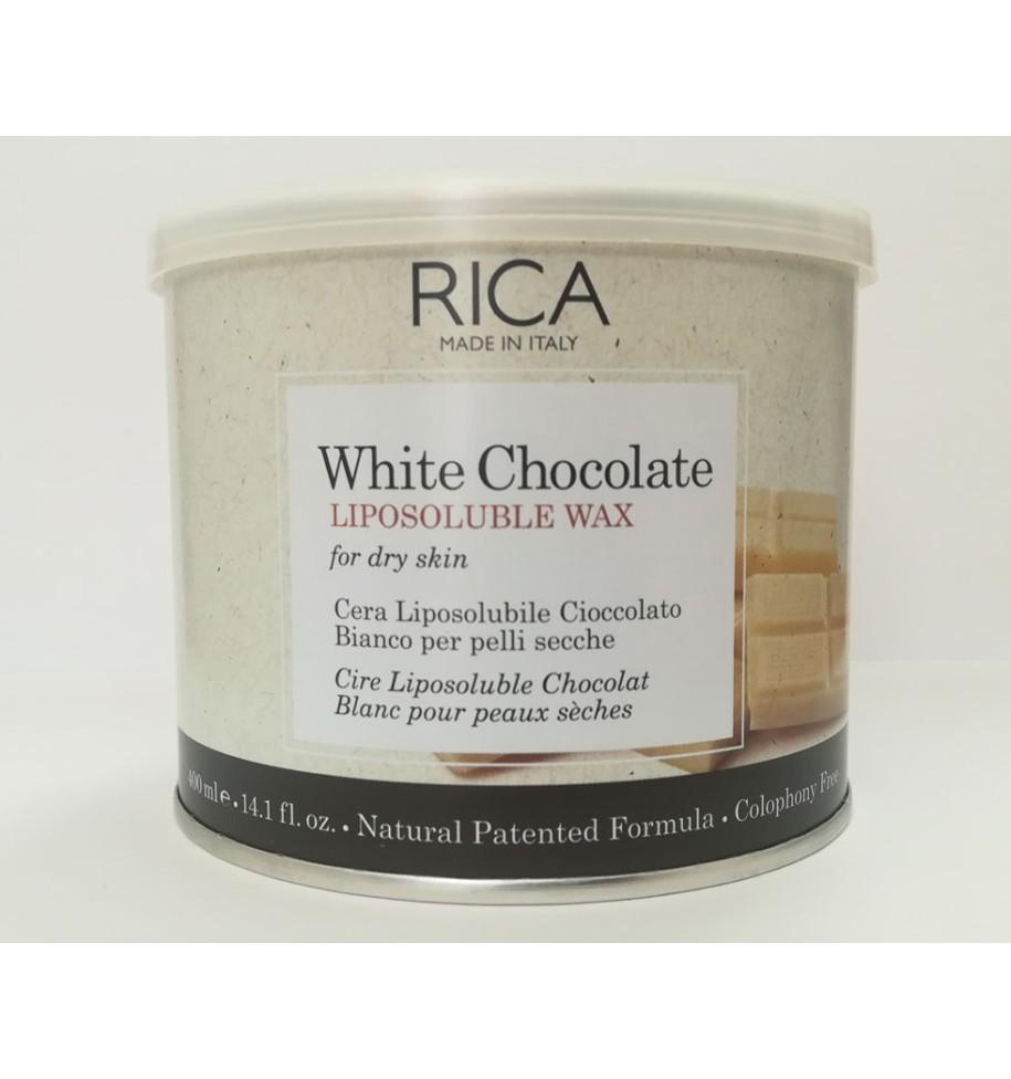 Ceretta Vaso Cioccolato Bianco 400ml RICA - prodotti per parrucchieri - hairevolution prodotti