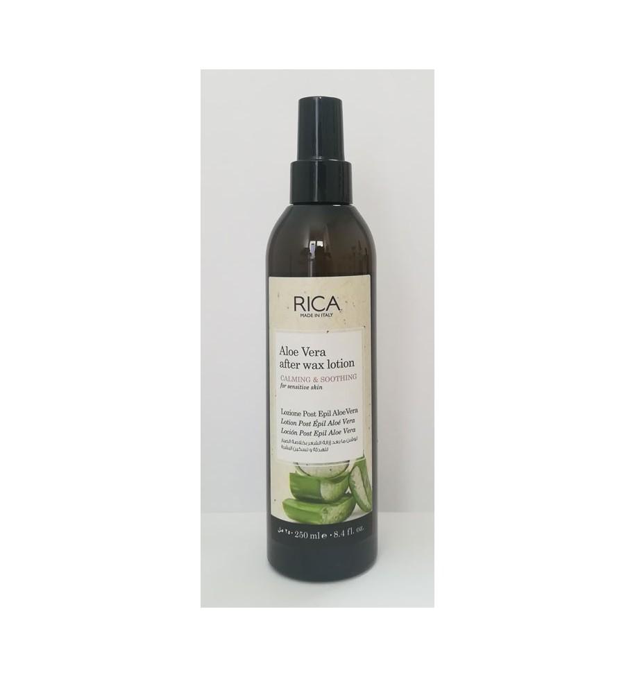 Lozione Post-Epilazione Aloe Vera 50 ML RICA - prodotti per parrucchieri - hairevolution prodotti