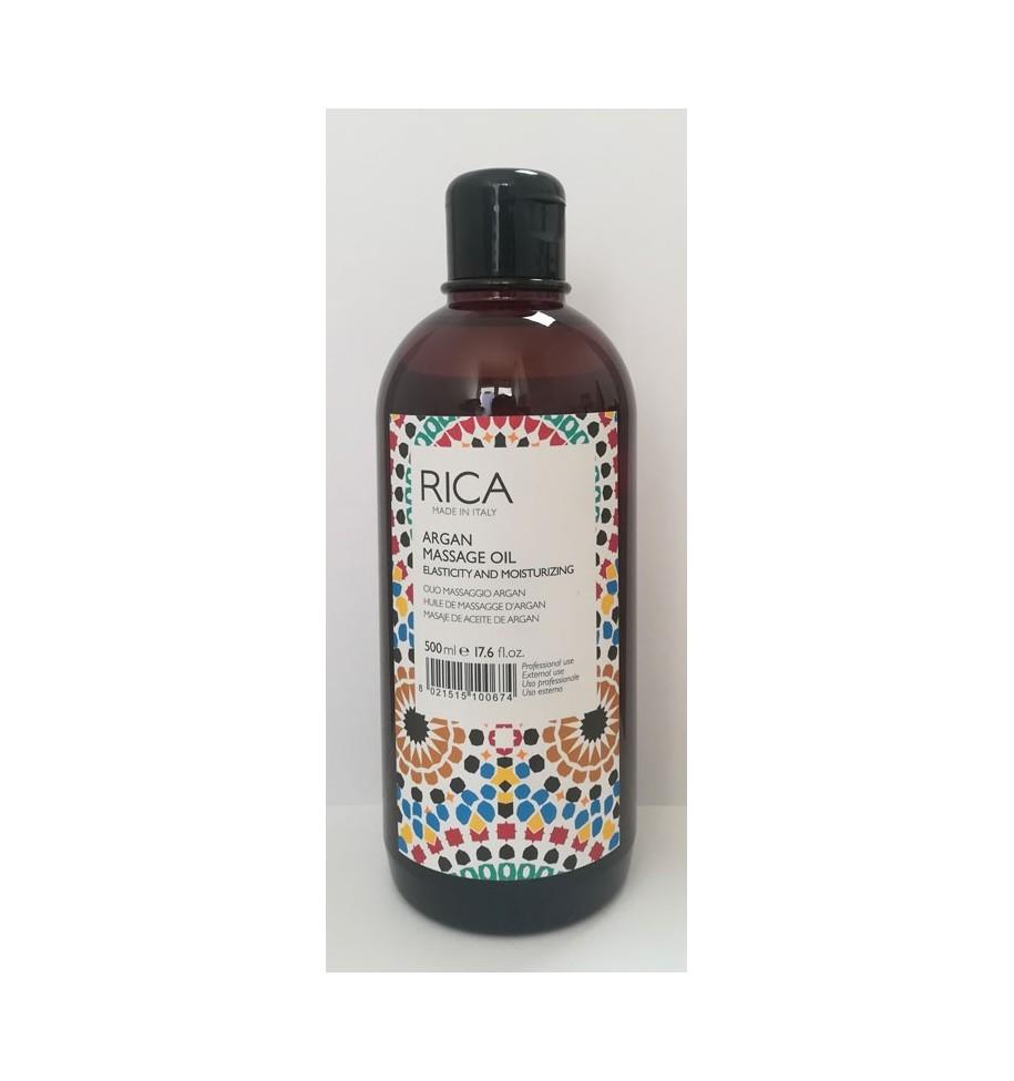 Olio da Massaggio Argan 500ml RICA - prodotti per parrucchieri - hairevolution prodotti