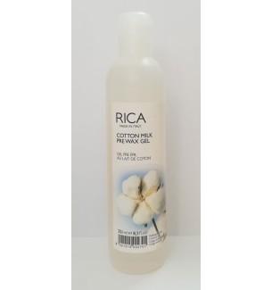 Gel Pre-Epilazione Cotton Milk Pre Wax Gel 250ml Rica - prodotti per parrucchieri - hairevolution prodotti