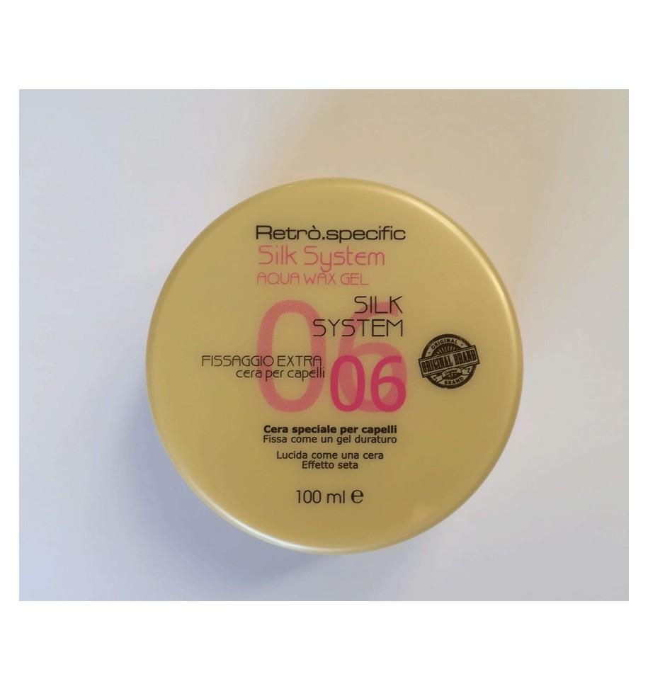 CERA SYSTEM 100ML RETRO' AQUA WAX GEL - prodotti per parrucchieri - hairevolution prodotti