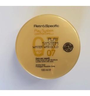 CERA PLAY SYSTEM GOLD 100 ML RETRO' - prodotti per parrucchieri - hairevolution prodotti
