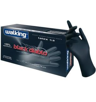 GUANTI WALKING IN LATTICE BLACK DIABLO L - prodotti per parrucchieri - hairevolution prodotti