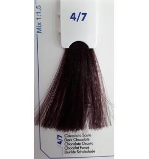 Tinta senza ammoniaca Cioccolato Scuro 4/7 100 ml Bionic Inebrya Color - prodotti per parrucchieri - hairevolution prodotti