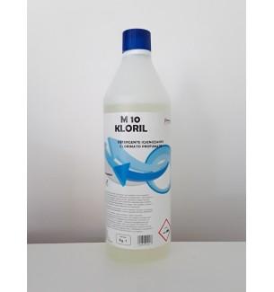 DETERGENTE IGIENIZZANTE CLORINATO PROFUMATO M 10 KLORIL 1 kg - prodotti per parrucchieri - hairevolution prodotti
