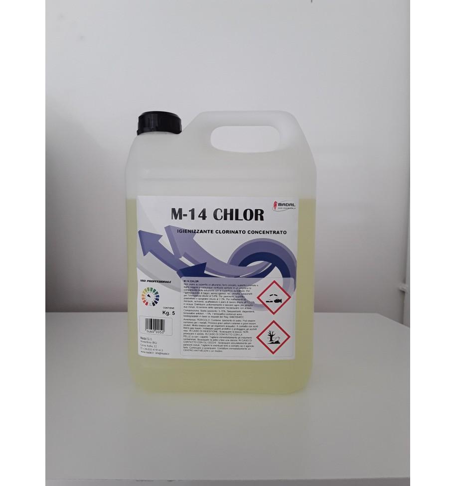 Detergente Igienizzante Clorinato Profumato M 10 KLORIL 5 kg - prodotti per parrucchieri - hairevolution prodotti