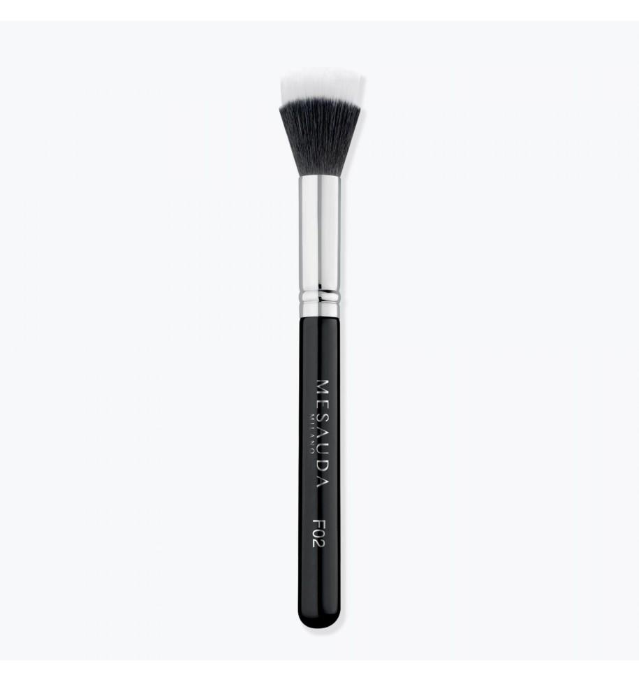 Pennello Doppia Fibra Mesauda F02 Stippling Foundation - prodotti per parrucchieri - hairevolution prodotti