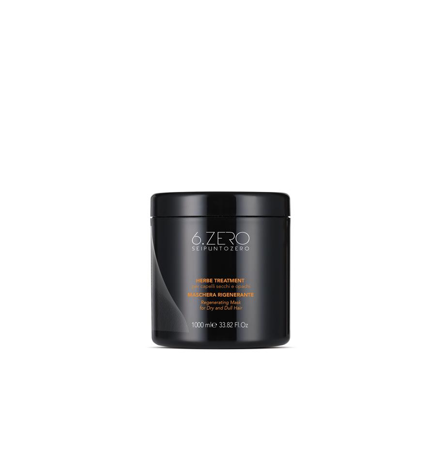 Maschera Per Capelli Secchi e Opachi Herbe Treatment 1000ml 6.Zero - prodotti per parrucchieri - hairevolution prodotti