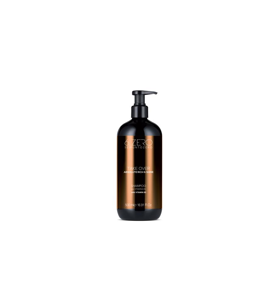 Shampoo Per Capelli Secchi ed Opachi 6.Zero 500ml - prodotti per parrucchieri - hairevolution prodotti