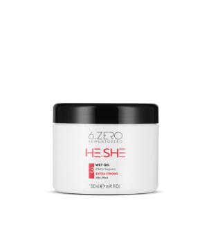 Gel Extra Forte Effetto Bagnato 6.Zero 500ml - prodotti per parrucchieri - hairevolution prodotti