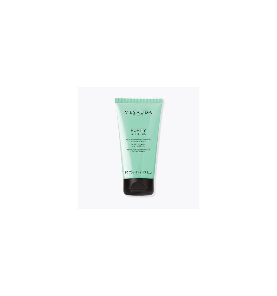 Maschera Viso Detossinante All'Argilla Verde Mesauda 75ML - prodotti per parrucchieri - hairevolution prodotti