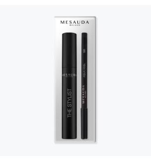Kit Mascara The Stylist e Matita Aqua Khol 101 Mesauda - prodotti per parrucchieri - hairevolution prodotti