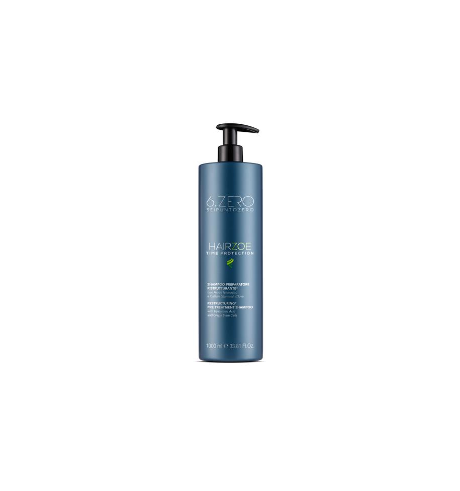 HairZoe Shampoo Preparatore Ristrutturante 1000ml 6.Zero - prodotti per parrucchieri - hairevolution prodotti