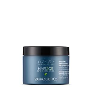 HairZoe Maschera Mantenimento Ristrutturante 250ml 6.Zero - prodotti per parrucchieri - hairevolution prodotti