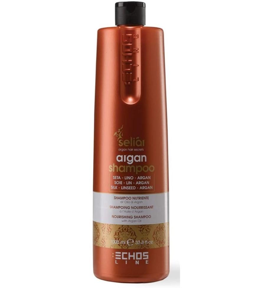 Shampoo Nutriente All'Olio D'Argan Echosline 1000 ml - prodotti per parrucchieri - hairevolution prodotti