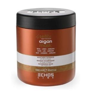 Maschera Nutriente All'Olio D'Argan Echosline 1000 ml - prodotti per parrucchieri - hairevolution prodotti