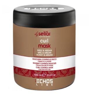 Maschera Per Capelli Ricci Miele e Argan Echosline 1000 ml - prodotti per parrucchieri - hairevolution prodotti