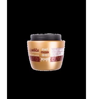 Maschera Per Capelli Ricci Miele e Argan Echosline 500 ml - prodotti per parrucchieri - hairevolution prodotti