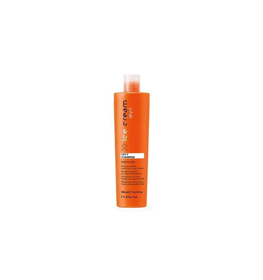 Shampoo Fior di Latte Dry-T Per Capelli Secchi, Crespi e Trattati 300ml - prodotti per parrucchieri - hairevolution prodotti