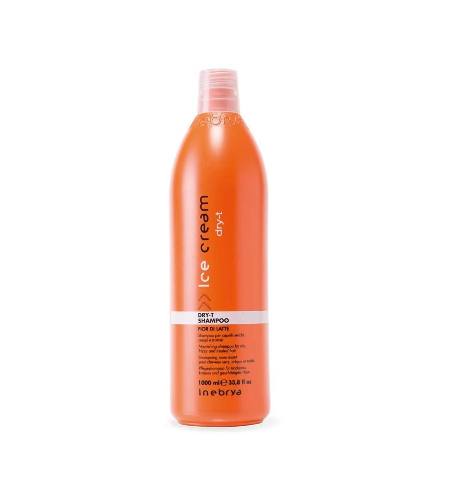 Shampoo Fior di Latte Dry-T Per Capelli Secchi, Crespi e Trattati 1000ml - prodotti per parrucchieri - hairevolution prodotti