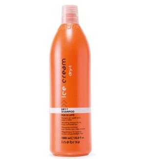 Shampoo Fior di Latte Dry-T  Per Capelli Secchi, Crespi e Trattati 1000ml